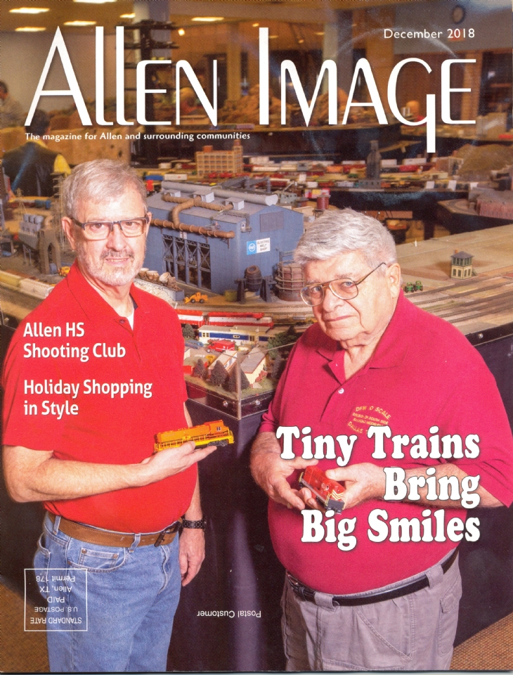 Featured In the December Addition of Allen Image